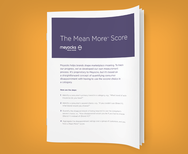 Mean More Score Thought Paper