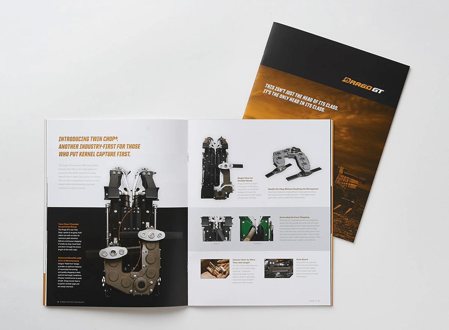 DragoGT Brand Brochure Twin Chop Interior Page