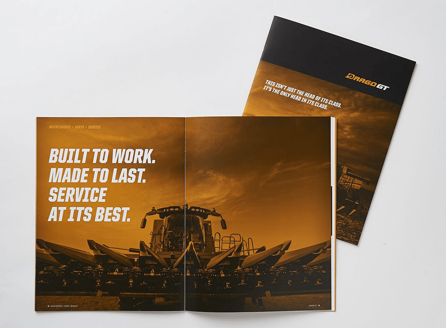 DragoGT Brand Brochure Built to Work Interior Page