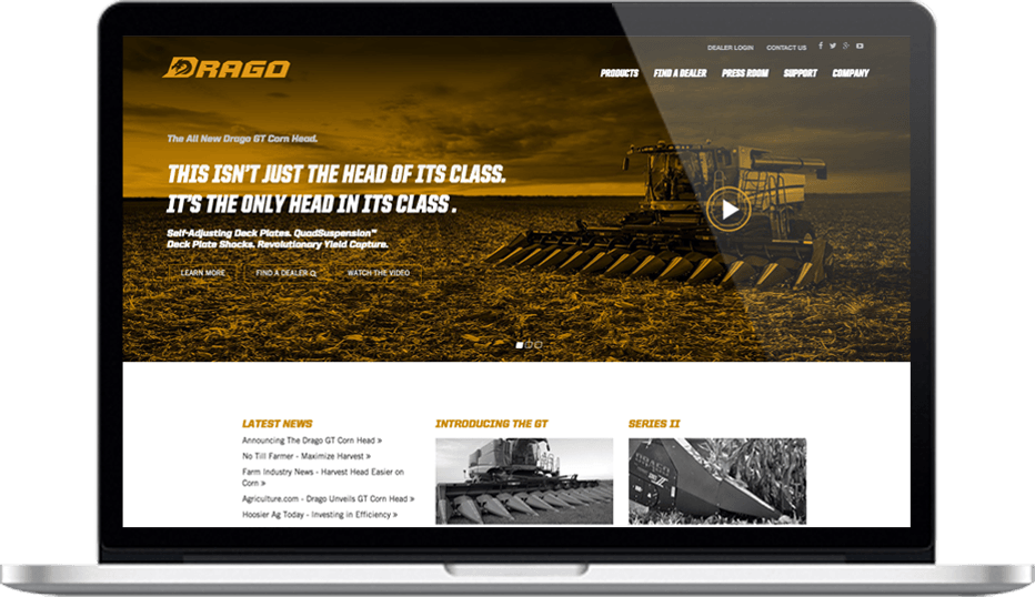 Drago Website Example