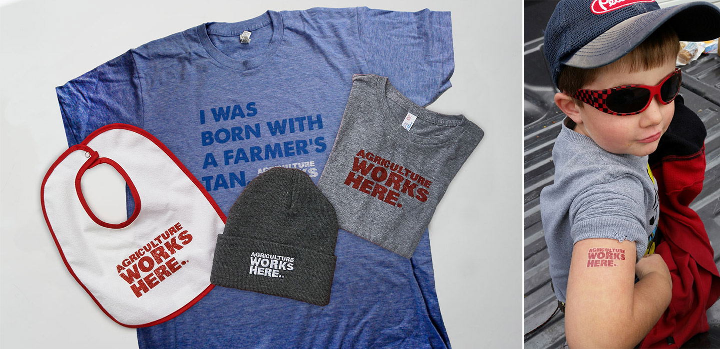 FCSAmerica Ag Works Here Swag