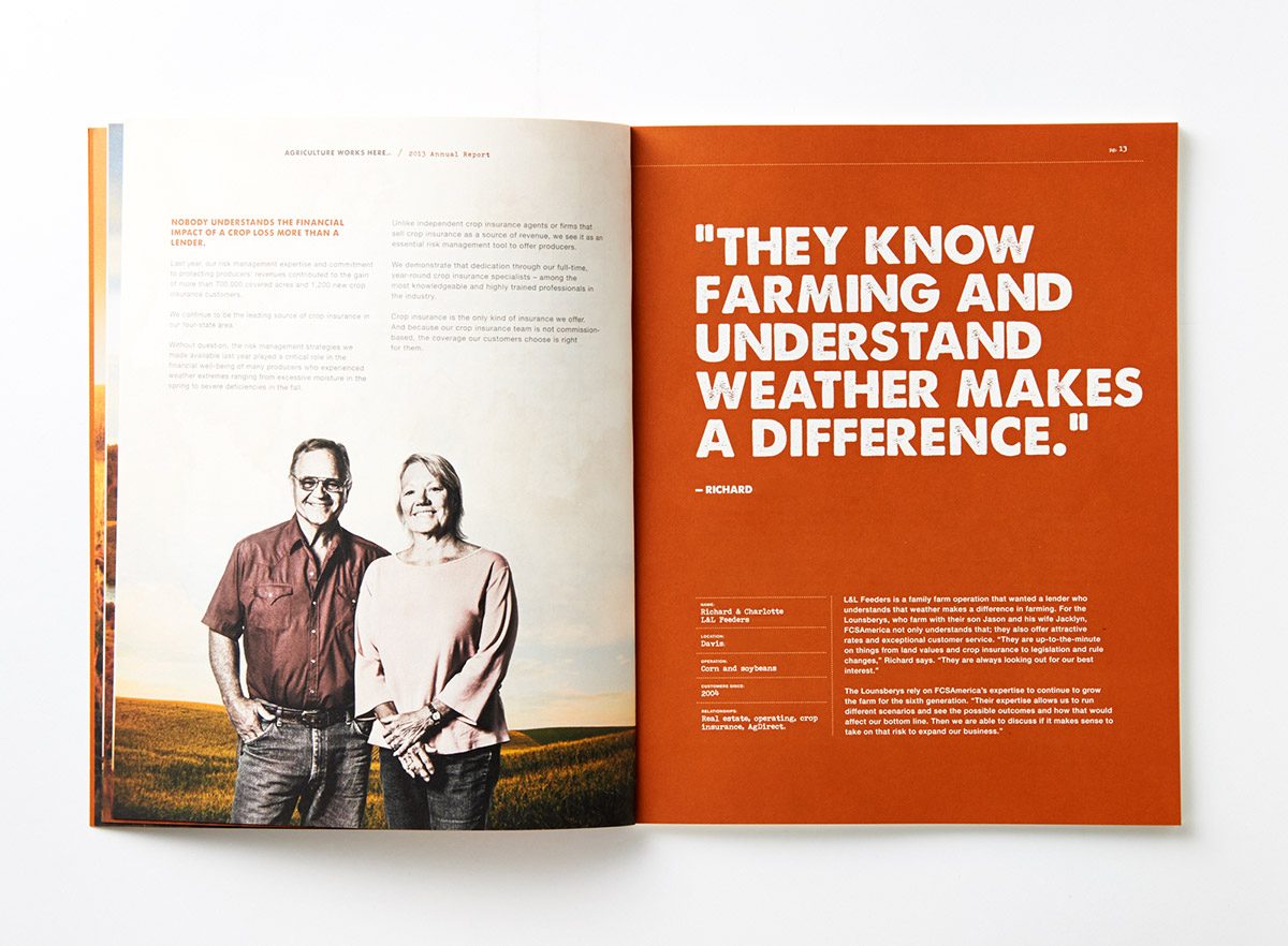 Value Beyond Numbers Annual Report Interior Page