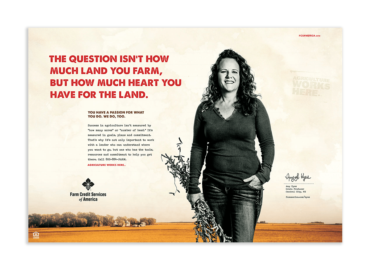 Heart for the Land Advertising Example