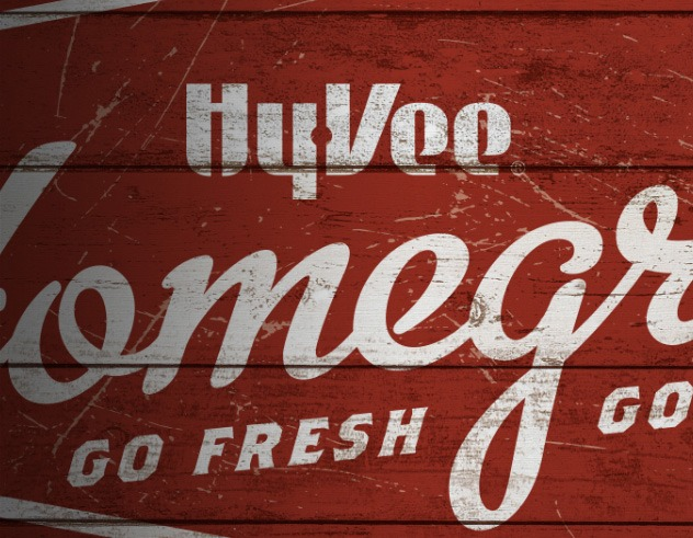 Hy-Vee Homegrown Food Marketing Example