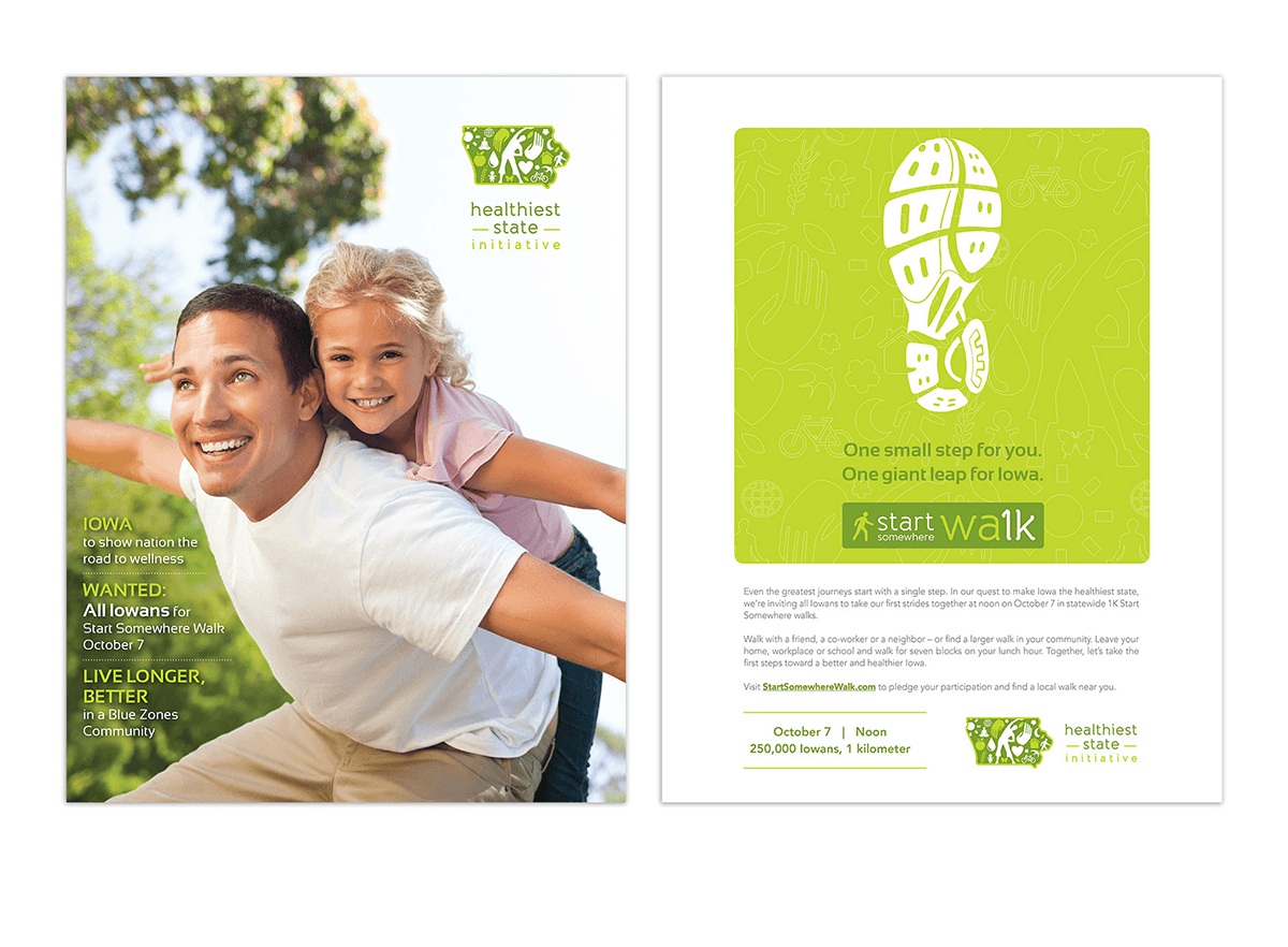 Healthiest State Initiative Flyer Example