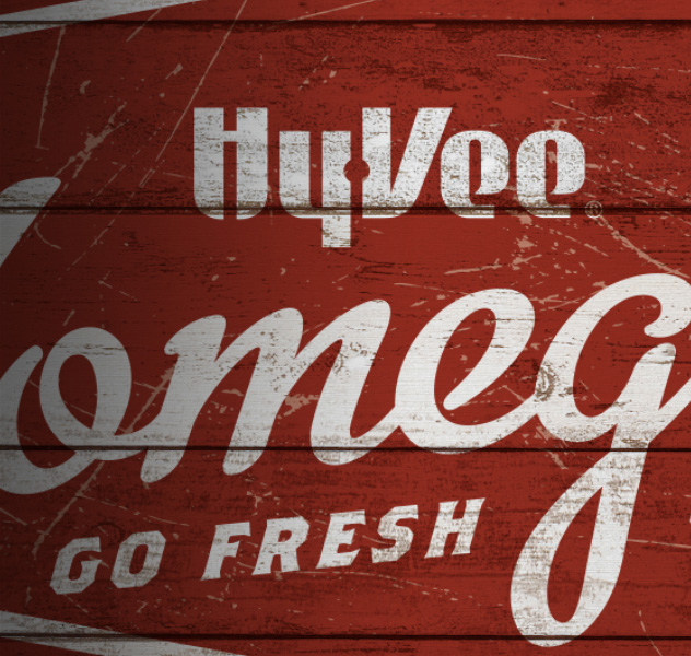 Hy-Vee Take & Bake Food Branding Example