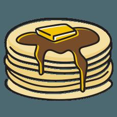 That's Smart Pancakes Icon