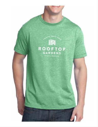 Rooftop Garden tshirt design