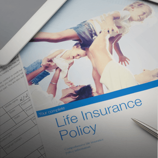 Life Insurance Brochure and Paperwork