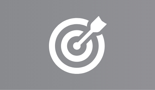 Brand Positioning Bullseye Icon