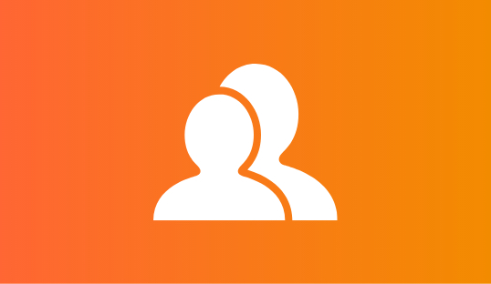 Customers Orange Icon