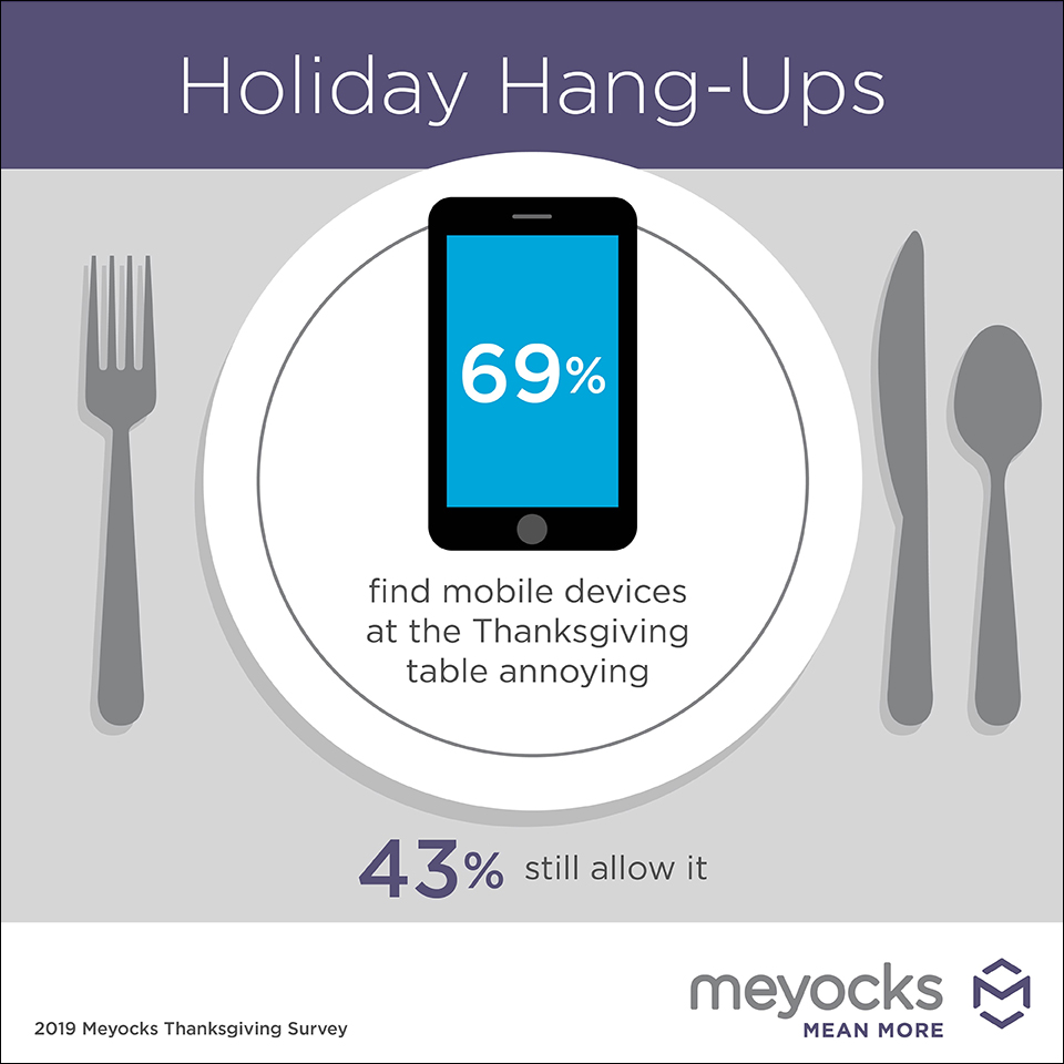 TThanksgiving mobile use annoyance infographic